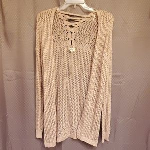 Mudd light pink sweater